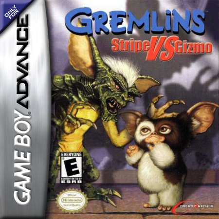 Gremlins - Stripe vs Gizmo Nintendo Game Boy Advance cover artwork