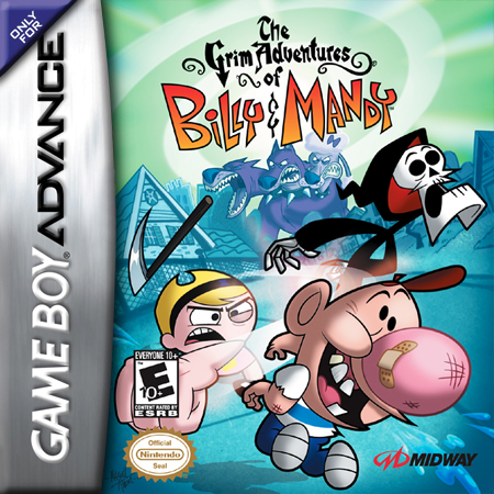 Grim Adventures of Billy & Mandy, The Nintendo Game Boy Advance cover artwork