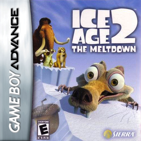 Ice Age 2 - The Meltdown Nintendo Game Boy Advance cover artwork