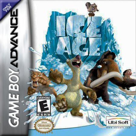 Ice Age Nintendo Game Boy Advance cover artwork