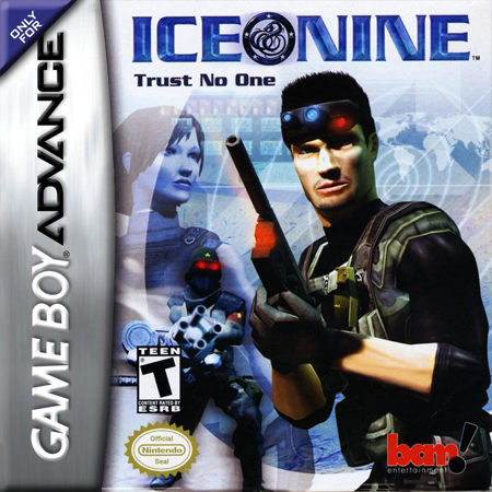 Ice Nine Nintendo Game Boy Advance cover artwork