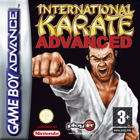 International Karate Advanced Nintendo Game Boy Advance cover artwork