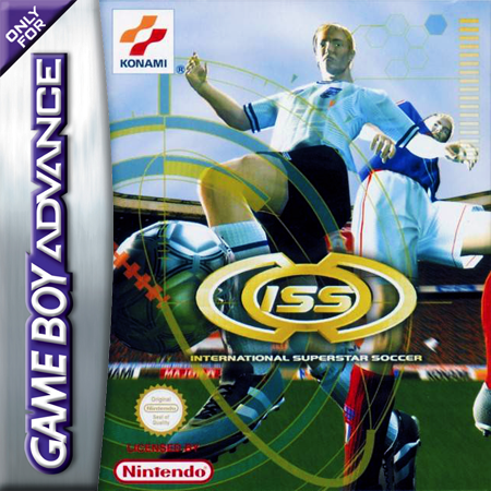International Superstar Soccer Nintendo Game Boy Advance cover artwork