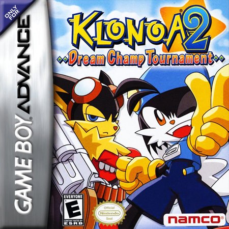 Klonoa 2 - Dream Champ Tournament Nintendo Game Boy Advance cover artwork