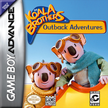Koala Brothers - Outback Adventures Nintendo Game Boy Advance cover artwork