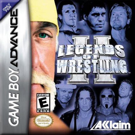 Legends of Wrestling II Nintendo Game Boy Advance cover artwork