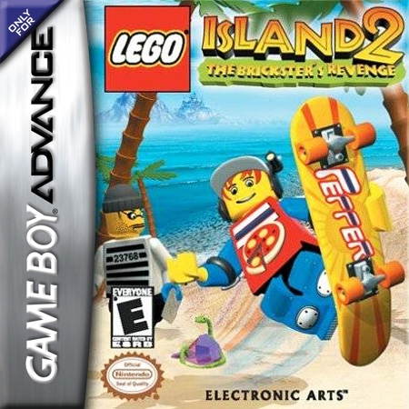 LEGO Island 2 - The Brickster's Revenge Nintendo Game Boy Advance cover artwork