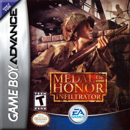 Medal of Honor - Infiltrator Nintendo Game Boy Advance cover artwork