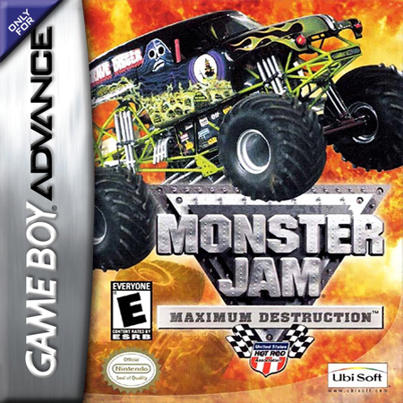 Monster Jam - Maximum Destruction Nintendo Game Boy Advance cover artwork