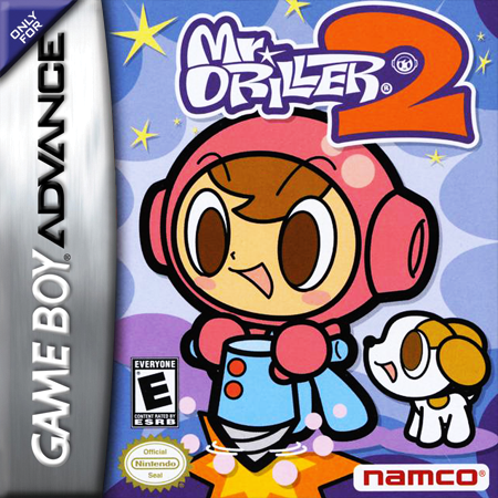 Mr. Driller 2 Nintendo Game Boy Advance cover artwork