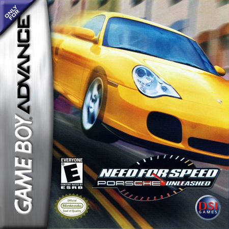 Need for Speed - Porsche Unleashed Nintendo Game Boy Advance cover artwork