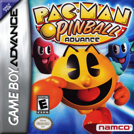 Pac-Man Pinball Advance Nintendo Game Boy Advance cover artwork