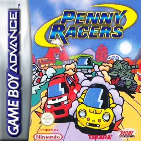 Penny Racers Nintendo Game Boy Advance cover artwork