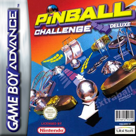 Pinball Challenge Deluxe Nintendo Game Boy Advance cover artwork