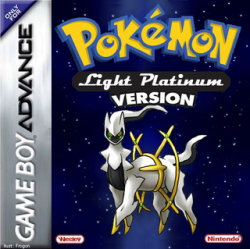 Pokemon - Light Platinum Nintendo Game Boy Advance cover artwork