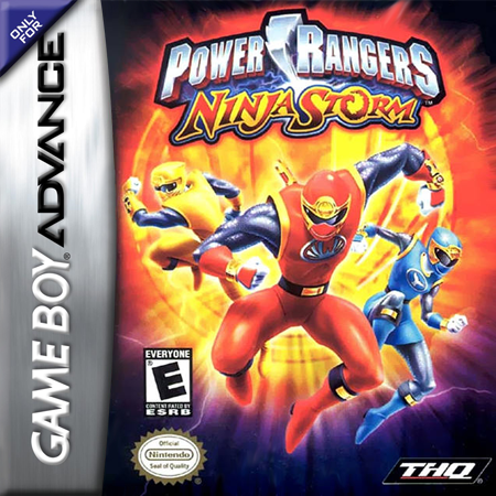 Power Rangers - Ninja Storm Nintendo Game Boy Advance cover artwork