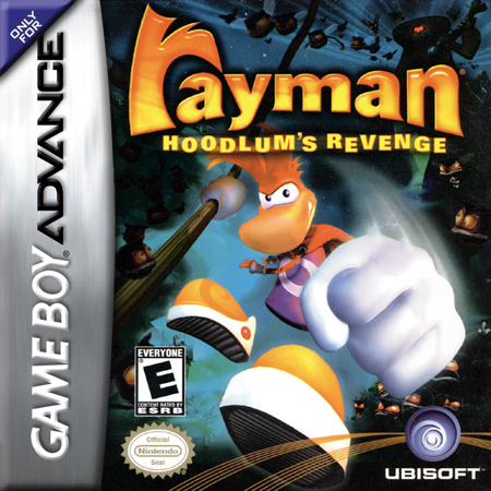 Rayman - Hoodlum's Revenge Nintendo Game Boy Advance cover artwork