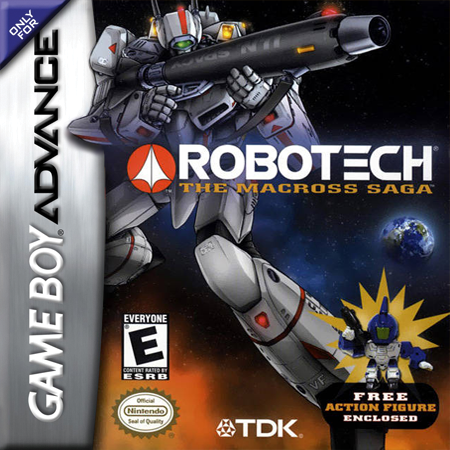 Robotech - The Macross Saga Nintendo Game Boy Advance cover artwork