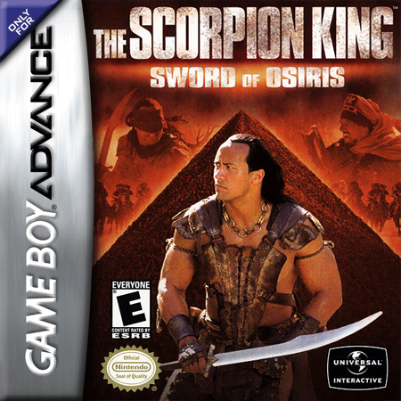 Scorpion King, The - Sword of Osiris Nintendo Game Boy Advance cover artwork