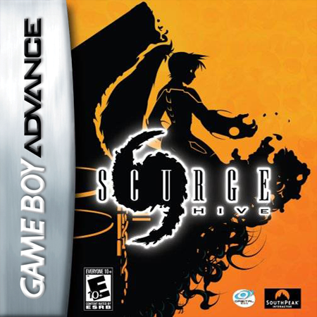Scurge - Hive Nintendo Game Boy Advance cover artwork