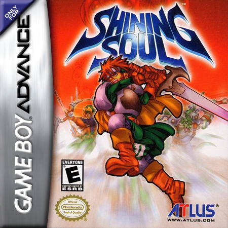 Shining Soul Nintendo Game Boy Advance cover artwork