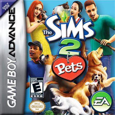 Sims 2, The - Pets Nintendo Game Boy Advance cover artwork