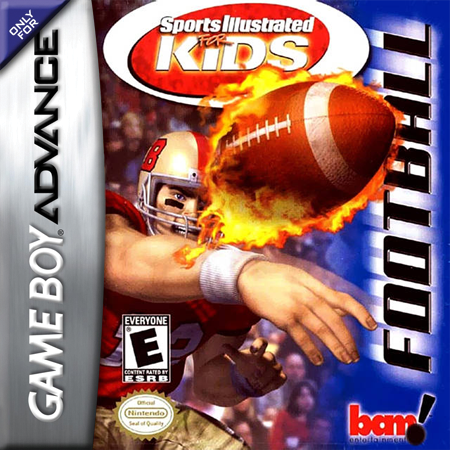 Sports Illustrated for Kids - Football Nintendo Game Boy Advance cover artwork