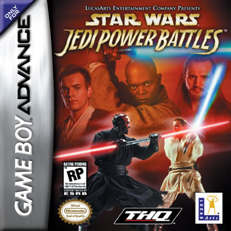 Star Wars - Jedi Power Battles Nintendo Game Boy Advance cover artwork