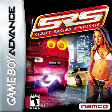 Street Racing Syndicate Nintendo Game Boy Advance cover artwork