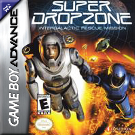 Super Dropzone - Intergalactic Rescue Mission Nintendo Game Boy Advance cover artwork
