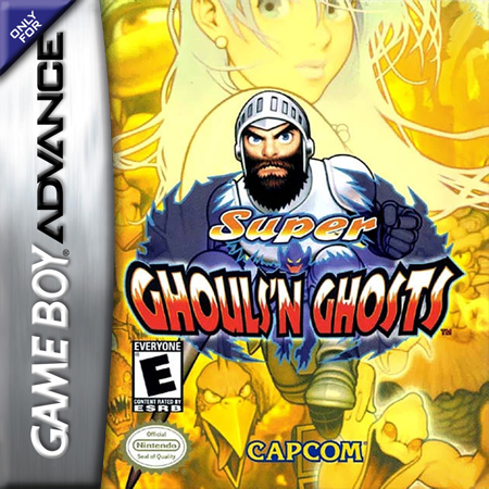 Super Ghouls'n Ghosts Nintendo Game Boy Advance cover artwork