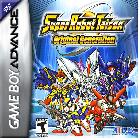 Super Robot Taisen - Original Generation Nintendo Game Boy Advance cover artwork