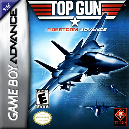 Top Gun - Firestorm Advance Nintendo Game Boy Advance cover artwork