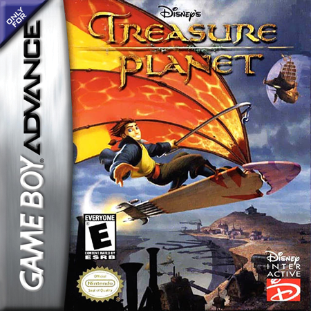 Treasure Planet Nintendo Game Boy Advance cover artwork