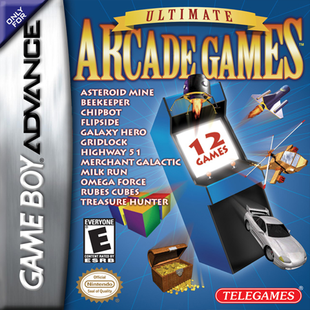 Ultimate Arcade Games Nintendo Game Boy Advance cover artwork