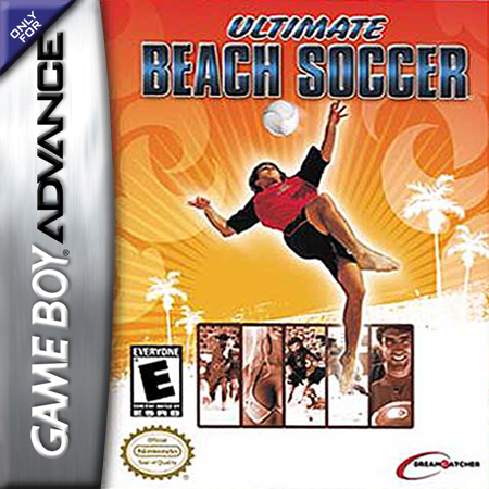 Ultimate Beach Soccer Nintendo Game Boy Advance cover artwork
