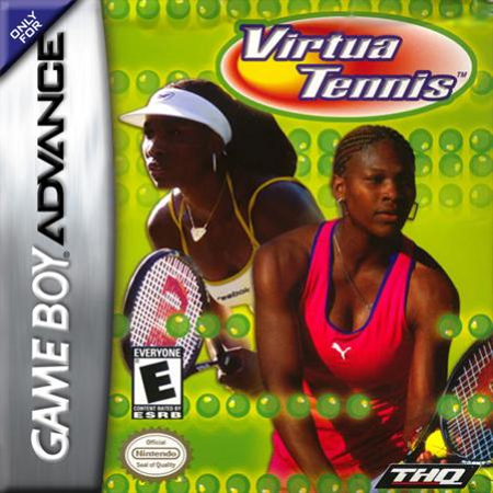 Virtua Tennis Nintendo Game Boy Advance cover artwork