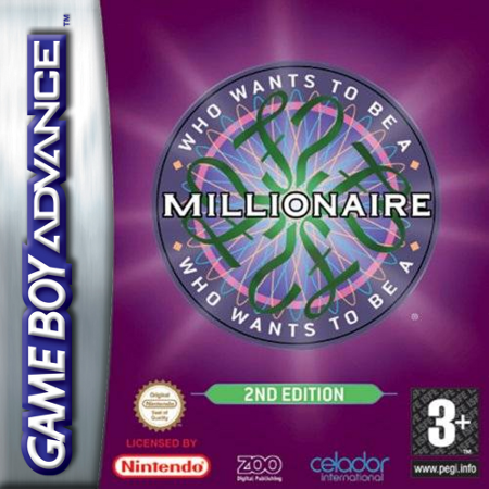 Who Wants to Be a Millionaire - 2nd Edition Nintendo Game Boy Advance cover artwork