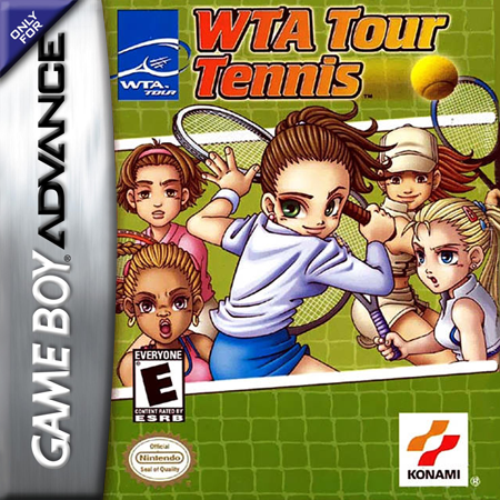 WTA Tour Tennis Nintendo Game Boy Advance cover artwork