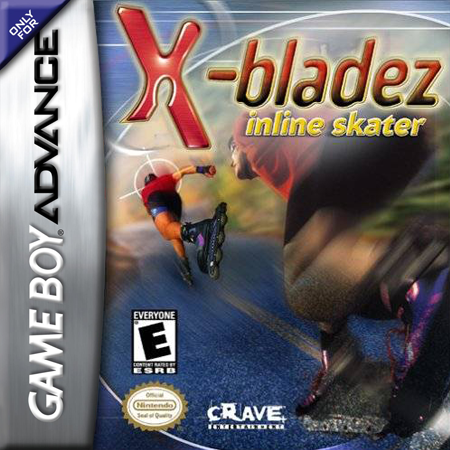 X-Bladez - Inline Skater Nintendo Game Boy Advance cover artwork