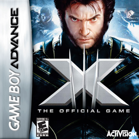 X-Men - The Official Game Nintendo Game Boy Advance cover artwork