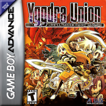 Yggdra Union - We'll Never Fight Alone Nintendo Game Boy Advance cover artwork