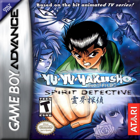 Yu Yu Hakusho - Ghostfiles - Spirit Detective Nintendo Game Boy Advance cover artwork