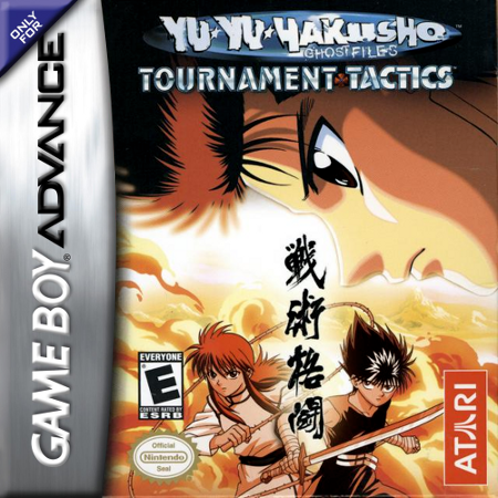 Yu Yu Hakusho - Ghostfiles - Tournament Tactics Nintendo Game Boy Advance cover artwork