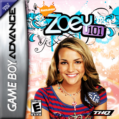 Zoey 101 Nintendo Game Boy Advance cover artwork