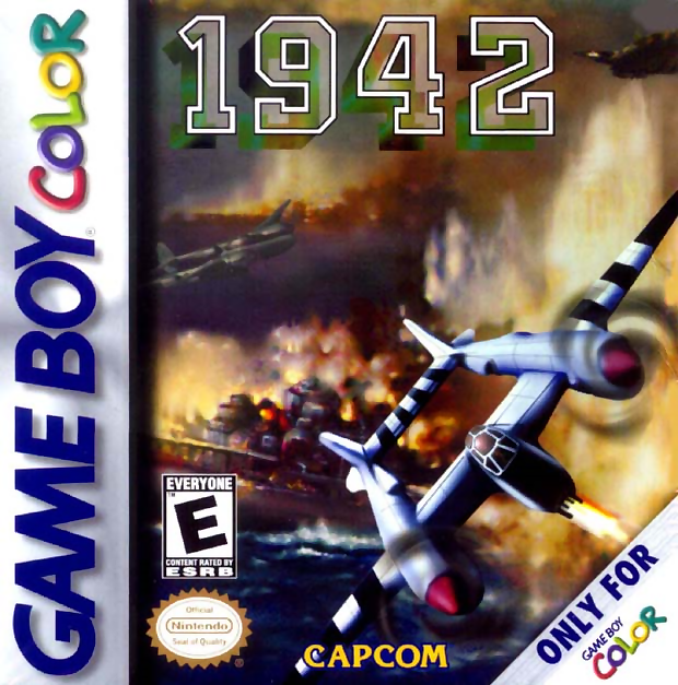 1942 Nintendo Game Boy Color cover artwork
