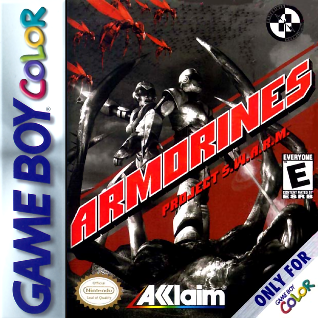 Armorines - Project S.W.A.R.M. Nintendo Game Boy Color cover artwork
