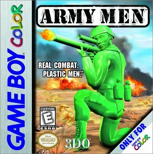Army Men Nintendo Game Boy Color cover artwork