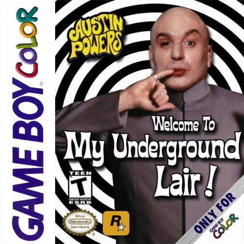Austin Powers - Welcome to my Underground Lair! Nintendo Game Boy Color cover artwork