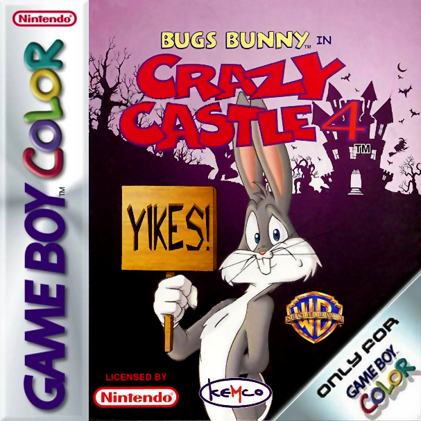 Bugs Bunny in Crazy Castle 4 Nintendo Game Boy Color cover artwork